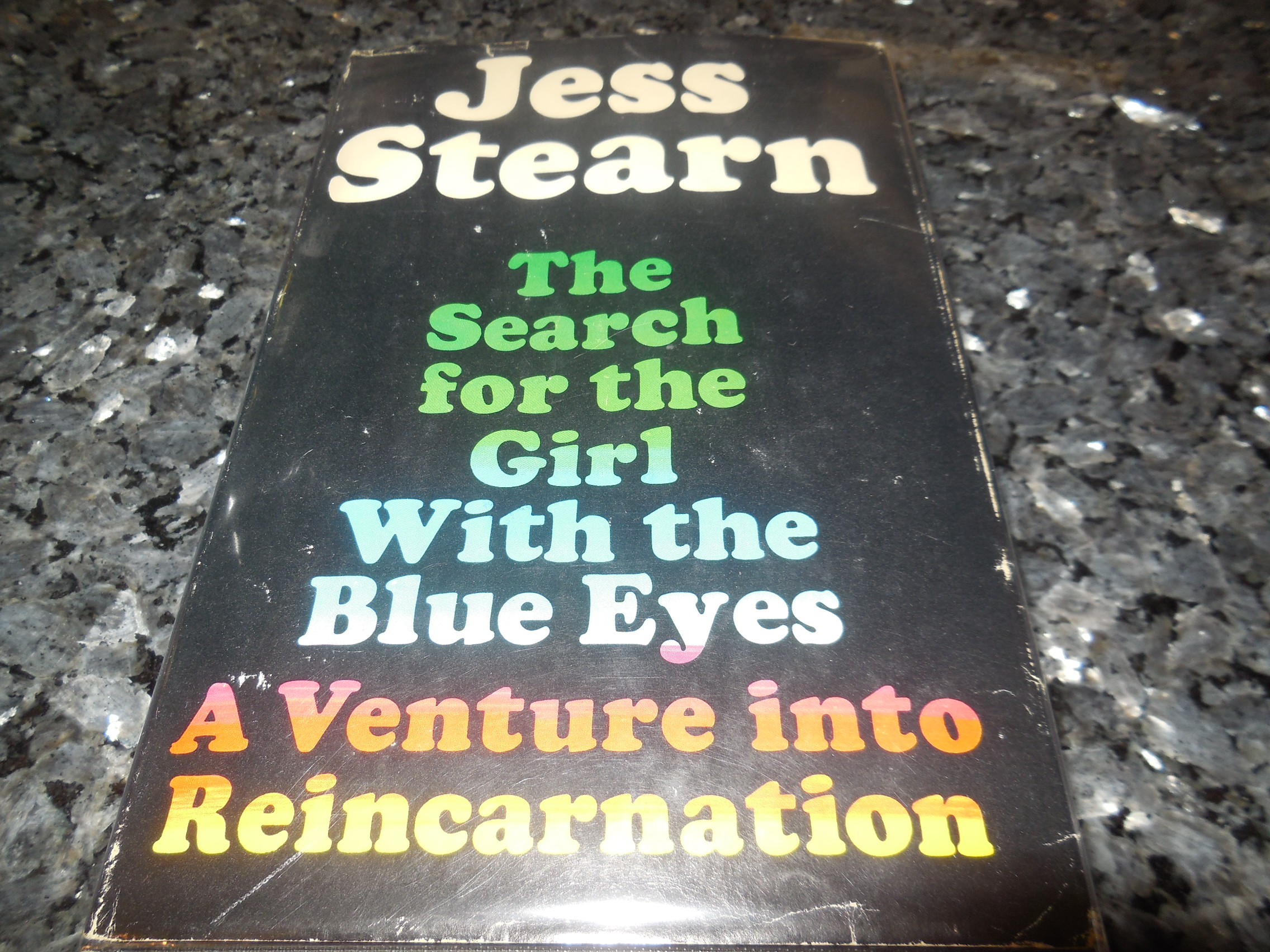 Image for The Search for the Girl with the Blue Eyes - A Venture Into Reincarnation